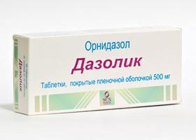Дазолик таблетки