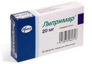Липримар таблетки