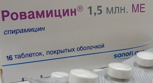 Ровамицин таблетки