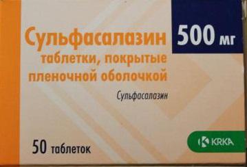 Сульфасалазин 500
