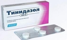 Тинидазол таблетки