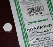 ftalazol-tabletki