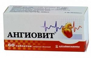 Ангиовит таблетки