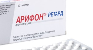 Арифон ретард таблетки