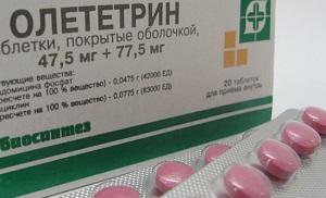 oletetrin-tabletki