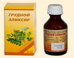 Грудной эликсир сироп