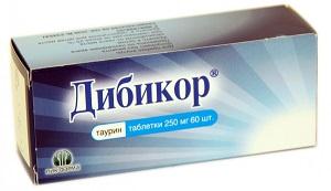 Дибикор таблетки