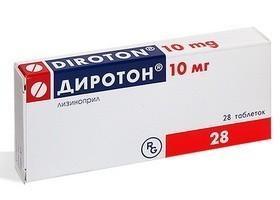 Диротон 10мг