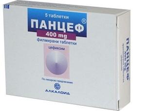 Панцеф таблетки