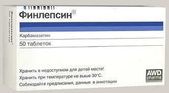 Финлепсин 50 таб