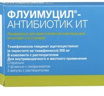 Флуимуцил-антибиоти