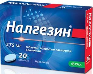 Налгезин таблетки