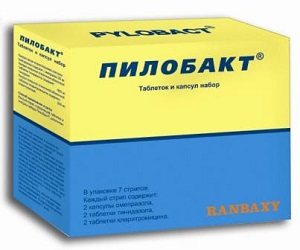 Пилобакт таблетки