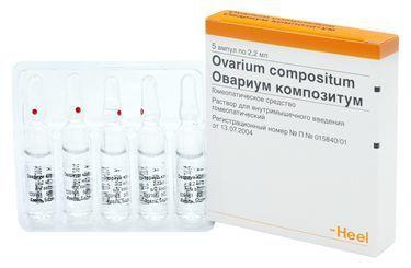 Овариум Композитум инструкция по применению цена отзывы и аналоги