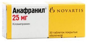 Анафранил цена в Томске от 298 руб., купить Анафранил, отзывы и инструкция по применению